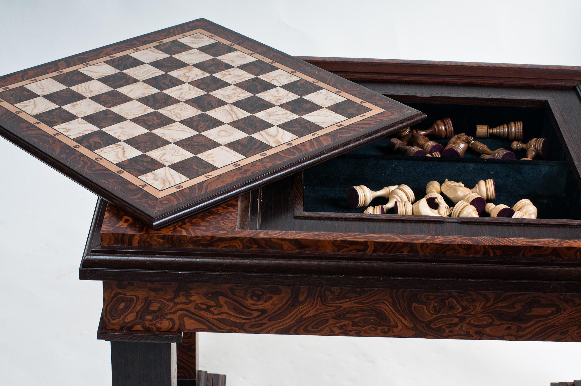 Шахматные столики своими руками